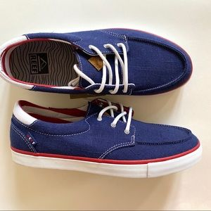 Reef Deckhand 3 TX Sneakers Casual canvas Shoes 9